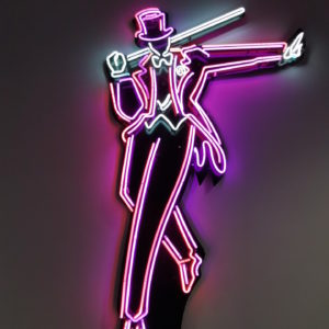 Insegna neon Fred Astaire