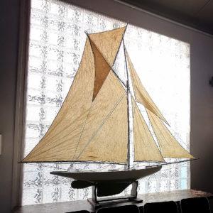 Barca a Vela di vecchio circolo nautico